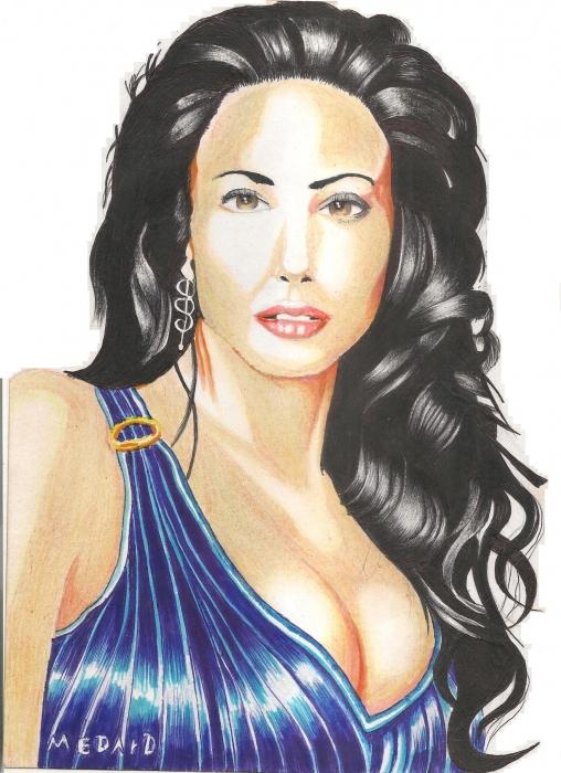 Angelina Jolie par Medard